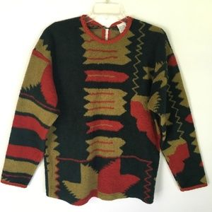 Vtg United Colors Of Benetton Wool Blend Sweater